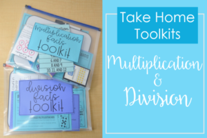 Multiplication and Division Practice | Free Math Facts Take Home Kits