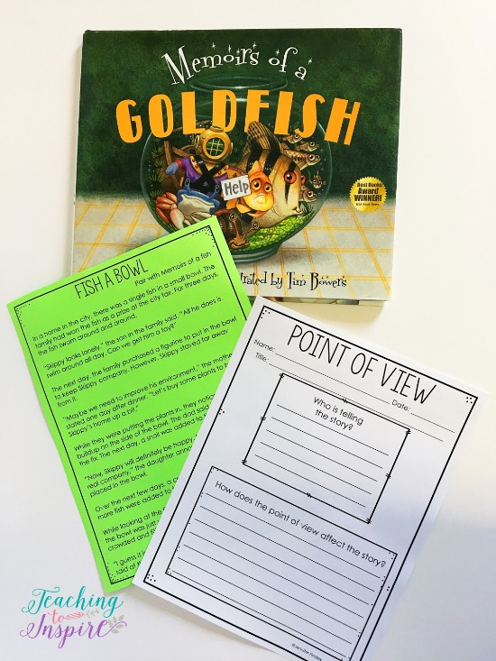 If you are looking for point of view mentor texts or read alouds for teaching point of view, definitely check out this post. This article shares several engaging read alouds with brief summaries and suggestions for how to use them. The post also shares ideas and guidelines for using the read alouds to teach point of view.