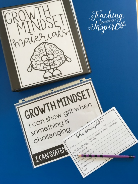 Are you implementing growth mindset in your classroom? These FREE resources will help you teach and develop growth mindset in your classroom all year! Use these materials when you are teaching growth mindset principles and/or use them to create growth mindset portfolios.