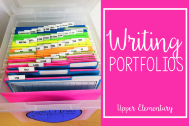 Writing portfolios are a great way to show student growth and to showcase your writers. Read more about how to create writing portfolios and manage them (including free printables) on this post.