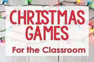 Christmas Games for the Classroom