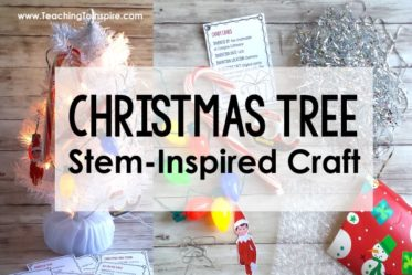 "Christmas Tree of Inventions! Learn about common ""Christmas"" items and the history of their inventions with this engaging Christmas craft activity."