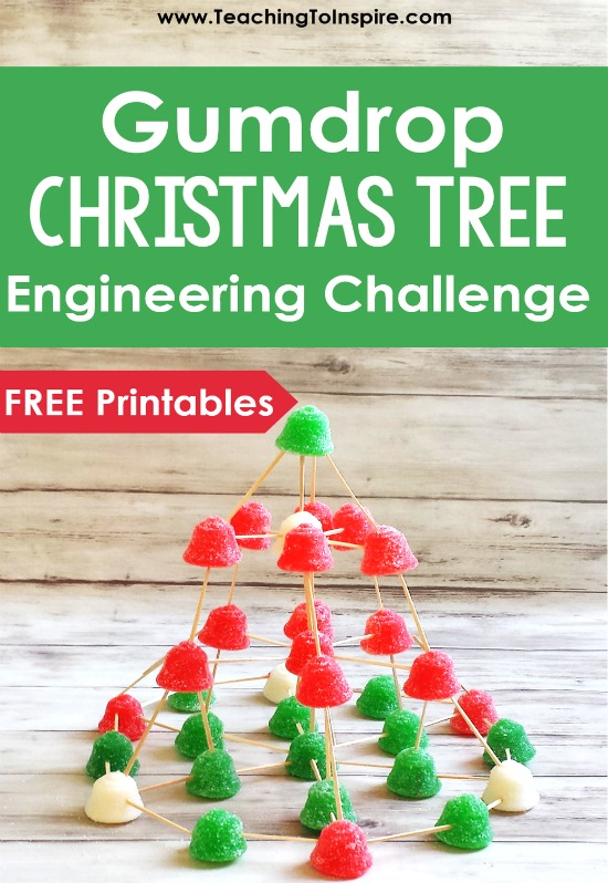 This Christmas STEM activity is sure to engage your students and get them thinking (and using math). Click to read more and download the free printables to try this Christmas engineering activity with your students.
