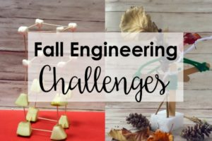 Fall Engineering Activities and Challenges for Upper Elementary