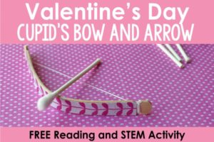 Valentine STEM and Reading Activity | Free Printables