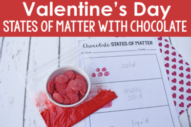 Valentine's Day Science Activity: Chocolate States of Matter