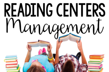 Reading centers or reading stations can be a great supplement to independent reading and really help your students master key reading skills. Read this post for reading centers management tips and strategies.