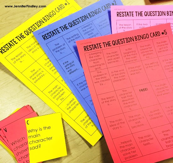 Using the RACE strategy is an effective way to help students answer constructed response reading questions. Grab these FREE Restate the Question puzzles on this post.