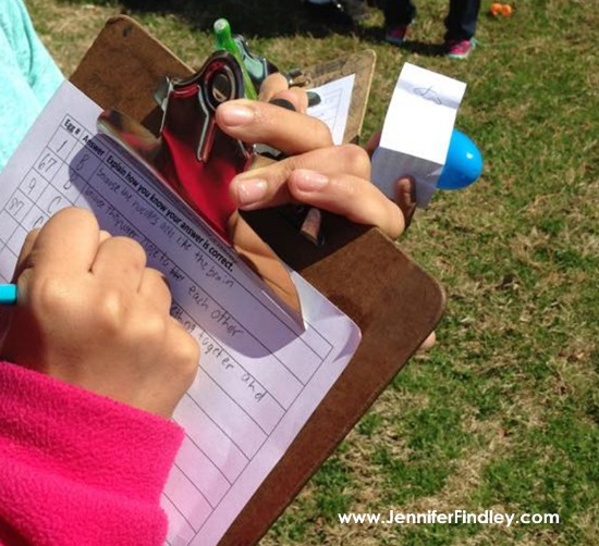 Test prep egg hunt is the perfect spring activity for 4th and 5th graders. Click through to read more spring activities for upper elementary.