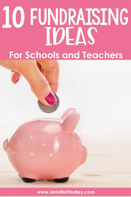 This post shares 10 tried and true fundraising ideas for schools that are easy and the students love. Many of these require no money up front and can be started immediately.