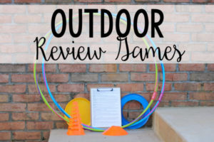 Outdoor Review Activities and Games