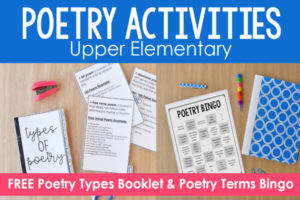 Poetry Activities for Upper Elementary
