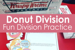 FREE Division Practice with Donuts Activities