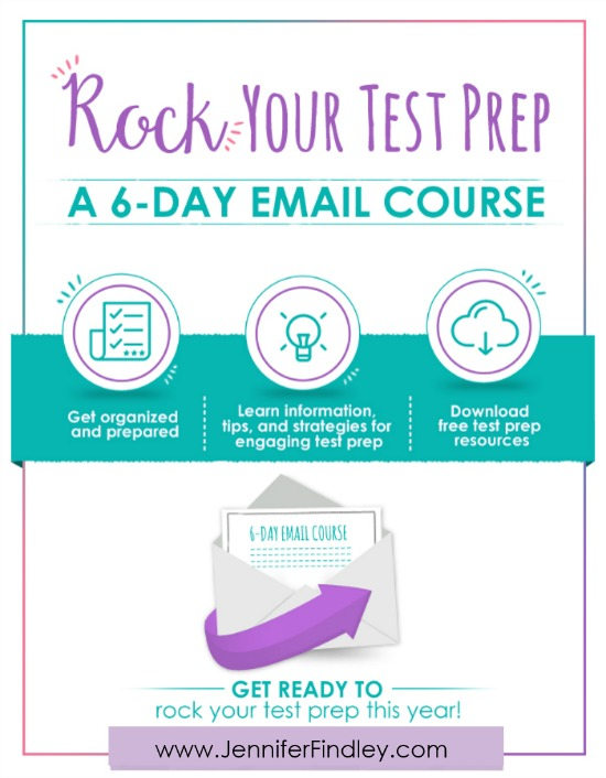Sign up NOW for Rock Your Test Prep, a FREE comprehensive 6-day email course that takes you through organizing and planning your test prep plan of attack and provides information, tips, strategies and resources to execute your plan seamlessly.