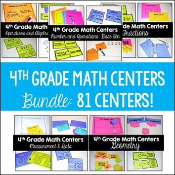 4th-Grade-Math-Centers