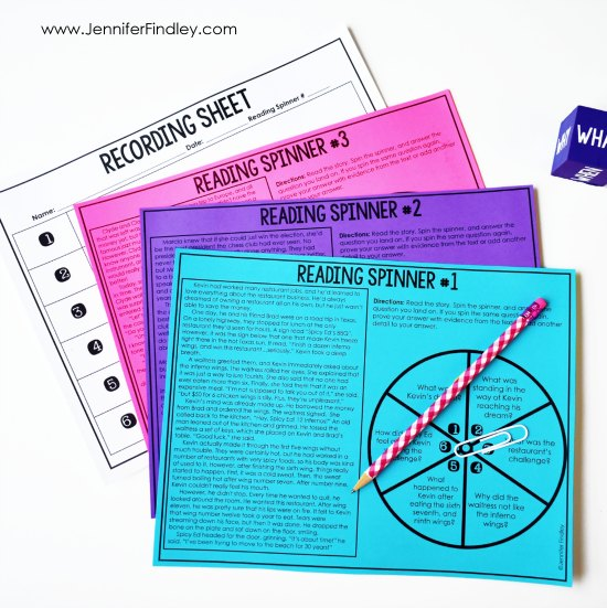 FREE reading comprehension activities! Reading games and centers are a great way to spice up your reading instruction and have your students practice important reading skills. Grab a free reading centers starter pack on this post!