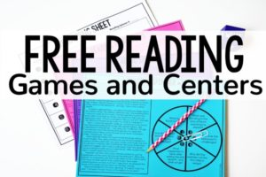Free Reading Games and Activities for Launching Reading Centers