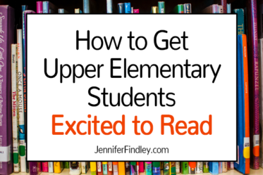 If you teach 4th or 5th grade readers, definitely check out this post for lots of practical ideas to get your students excited to read.