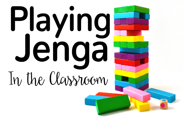 Incorporating Jenga in the classroom made easy with the FREE printable games linked in this collection of Jenga games for 4th and 5th graders!