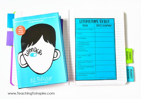 Reading notebooks in 4th and 5th grade help organize independent reading, reading skills, and more! Read about our reading notebooks and grab free printables to help set yours up.