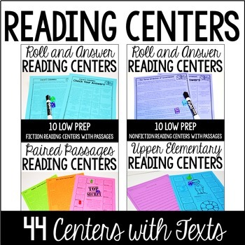 Free 4th and 5th Grade Reading Activities - Teaching with