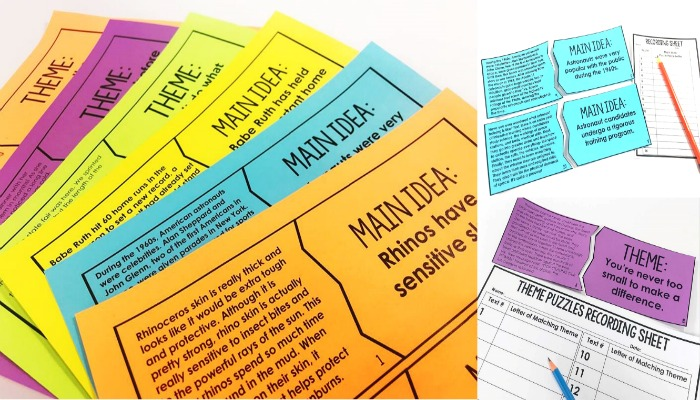 These reading puzzles make the perfect reading centers! Your students will love this hands-on approach to practicing key reading skills.