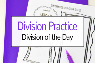Division Practice: Division of the Day