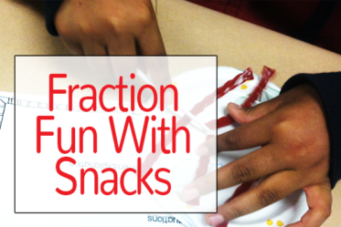 Multiplying and Dividing Fractions: Fraction Fun with Snacks! {Freebies}