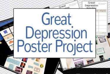 Great Depression Poster Project Freebie
