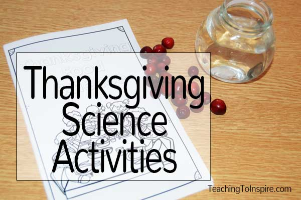 Thanksgiving Science Activities {With Cranberries