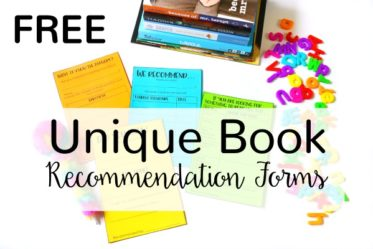 Free Book Recommendation Templates