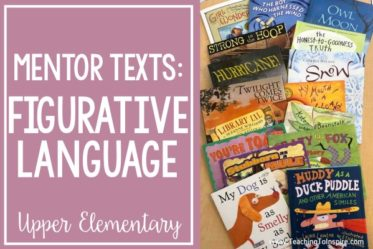 Teaching figurative language in 5th grade is a lot of fun! Check out this post for my go-to read alouds and other tips and resources for teaching figurative language.