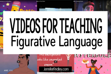 This post shares a collection of videos for reviewing or teaching figurative language, including metaphors, similes, hyperbole, and personification.