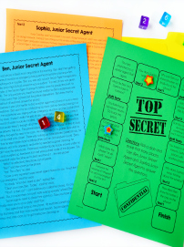 Grab a FREE reading game for paired passages!
