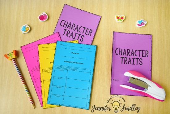 FREE Character Trait Activities! Character traits is an important reading skill to help students fully understand and relate to characters. This post shares tips for teaching and several free character trait activities for grades 3-5.