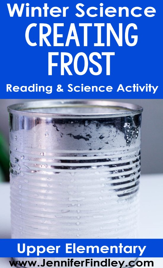 Read how you can implement the classic winter science activity of creating frost in your 4th or 5th grade classroom with relevancy and rigor. Free reading passage and printables included!