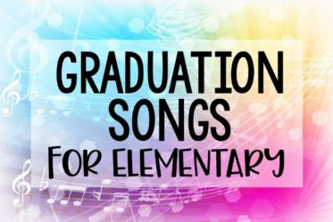 Graduation songs for elementary celebrations! Graduation season is upon us and with it comes the quest for graduation song ideas.Here are 20 popular graduation songs for elementary school ceremonies!