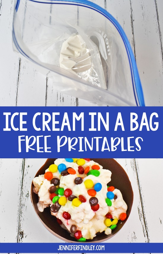 Making ice cream in a bag is the perfect end of year activity! Grab a free reading passage to integrate this engaging activity into literacy.