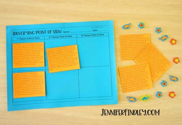 Free reading sorts for grades 4-5 with idea for implementation! These make perfect reading centers, stations, and independent practice reading activiites.