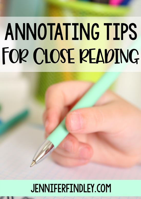 Annotating texts is a powerful strategy for readers, especially during close reading. Get practical tips and strategies to help your students annotate effectively and use their annotations in their discussion and responses on this post, including free printables.