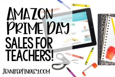 Amazon prime day deals for teachers! Check out this post (updated throughout the Amazon prime sale) for deals on supplies and items for teachers!