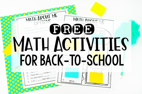 photo relating to Interest Inventory for Middle School Students Printable known as No cost Back again toward University Math Functions - Instruction with Jennifer