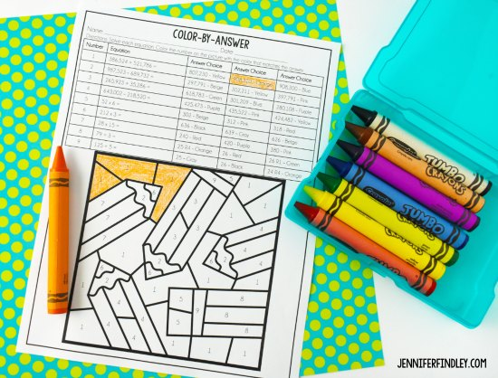 Free back-to-school math activities for 4th and 5th grade! Engage your students while learning about their math interests and skills with these free back to school math activities.
