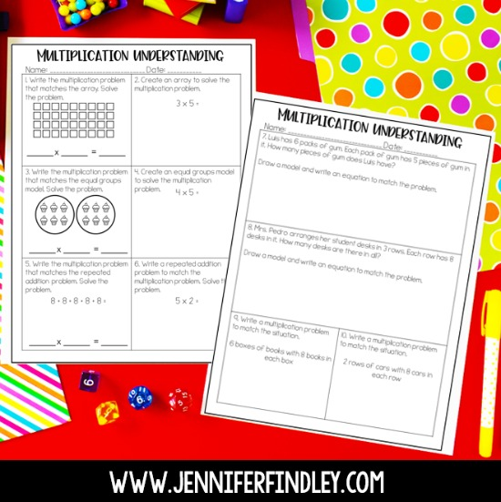 Use this free multiplication intervention assessment to see if your 4th and 5th grade students have a strong conceptual understanding of multiplication.