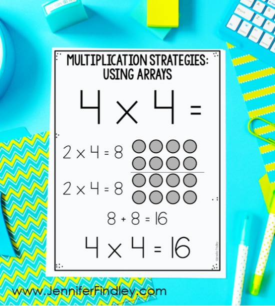 Do your students struggle with their multiplication facts? They don't need flashcards. They need strategies! Check out this post for the 6 multiplication strategies that I teach my 4th and 5th graders (and grab free posters!