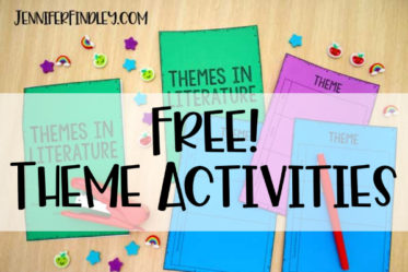 Free theme activities! Theme can be a tricky skill for students to master (and for teachers to teach). Grab some free activities for teaching and practicing theme on this post!