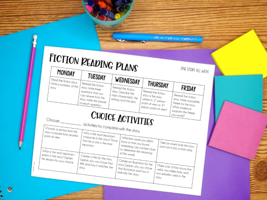 Grab free printable resources for remote or distance learning for grades 4-5.
