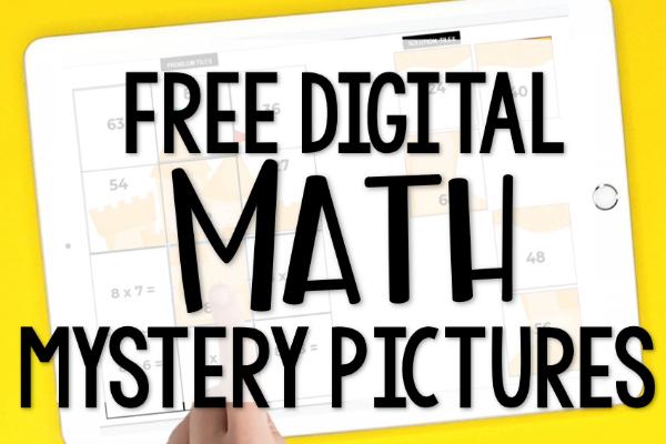Free Digital Math Activities For Multiplication