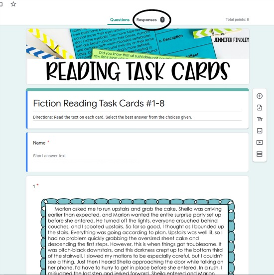 New to Google Forms and need a little help finding and viewing the results? This post shares a step-by-guide to viewing responses in Google Forms to help drive your instruction!
