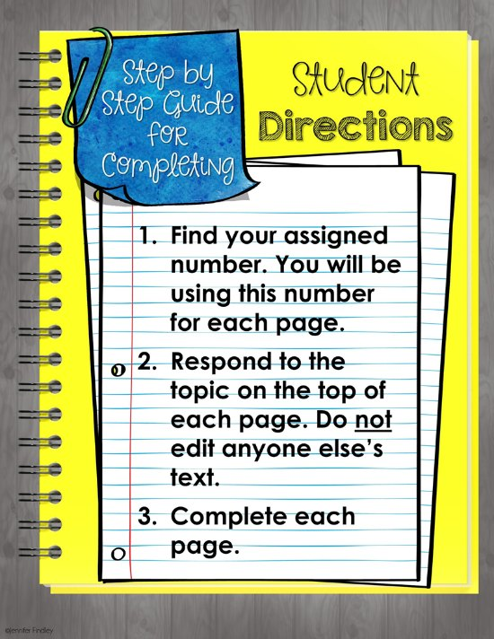 Free digital collaborative class book that makes a perfect digital end of the year activity!